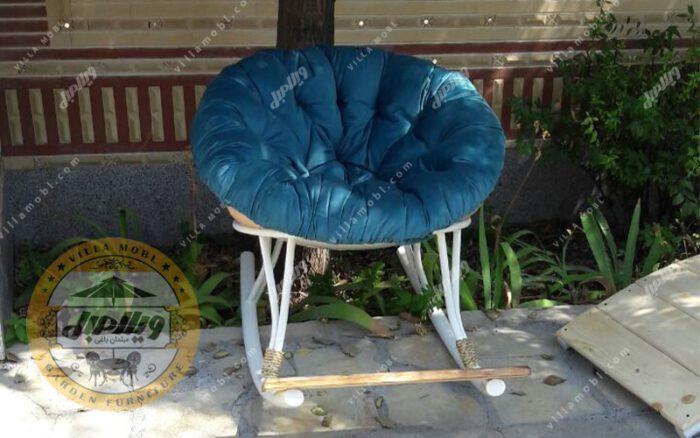 صندلی راک فلزی ارغوان