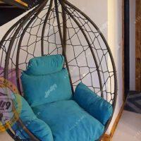 صندلی تابی مدل اشکی بافت پنجرهای