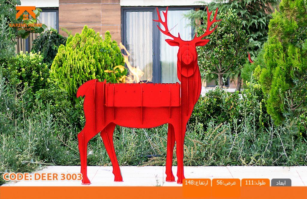 و منقل و کبابپز طرح حیوان 1 1024x666 - باربیکیو کارن زغالی طرح های حیوان