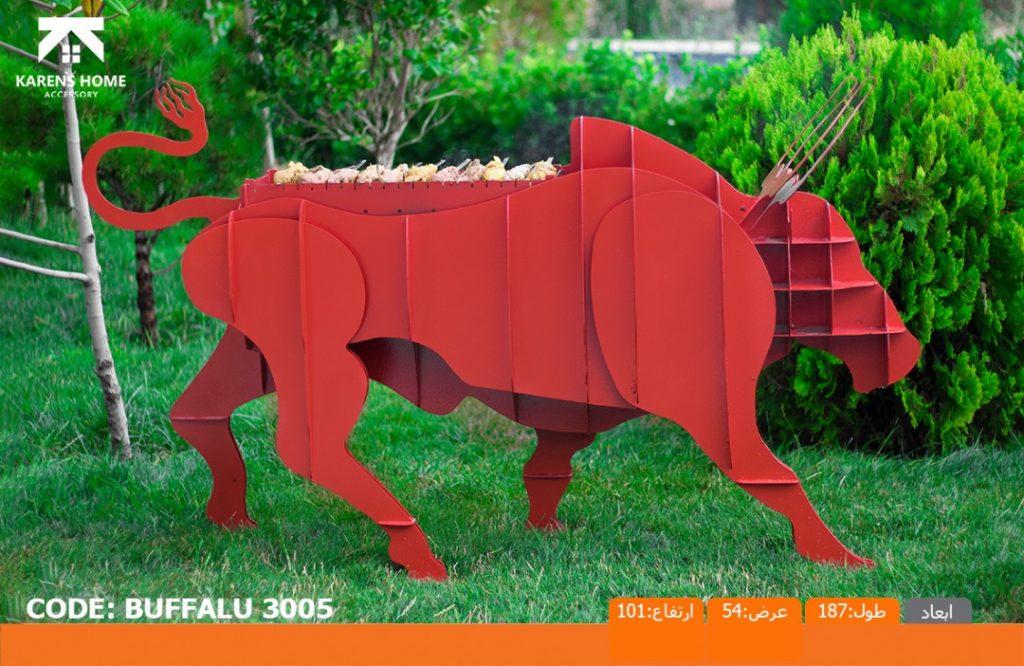 و منقل و کبابپز طرح حیوان 5 1024x666 - باربیکیو کارن زغالی طرح های حیوان
