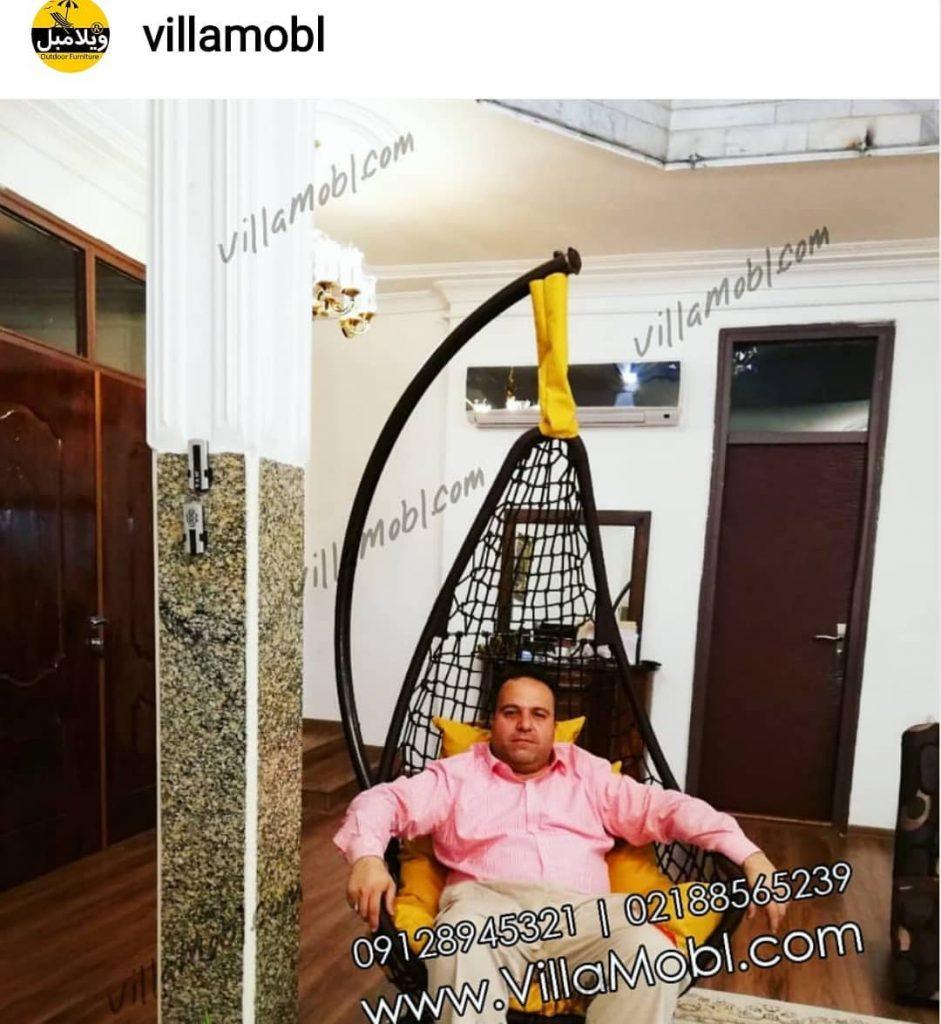صندلی تابی، هیجان گم شده دکوراسیون منزل شما