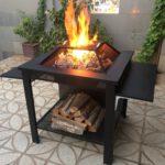 و آتشکده هیزم سوز چوب سوز باربیکیو 2 150x150 - آتشدان هیزمی سوز و چوب سوز تیپ3 مربع