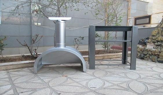 گازی مسقف 2 - باربیکیو و کباب پز زغالی سقف هلالی