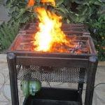 زغالی با فن دمنده 1 150x150 - مینی باربیکیو و کباب پز زغالی