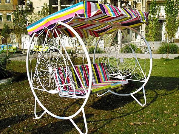 باغی ویلا - تاب باغی فلزی ویلایی مدل ویلا