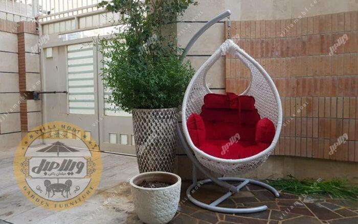 صندلی آویزی برای فضای باز