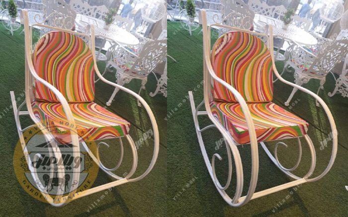 صندلی راک فلزی مدل آلما