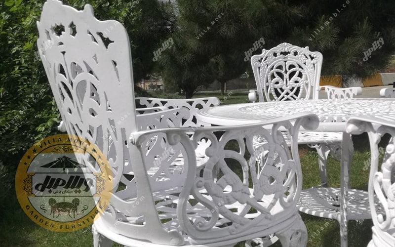 میز آلومینیومی باغی مرغابی