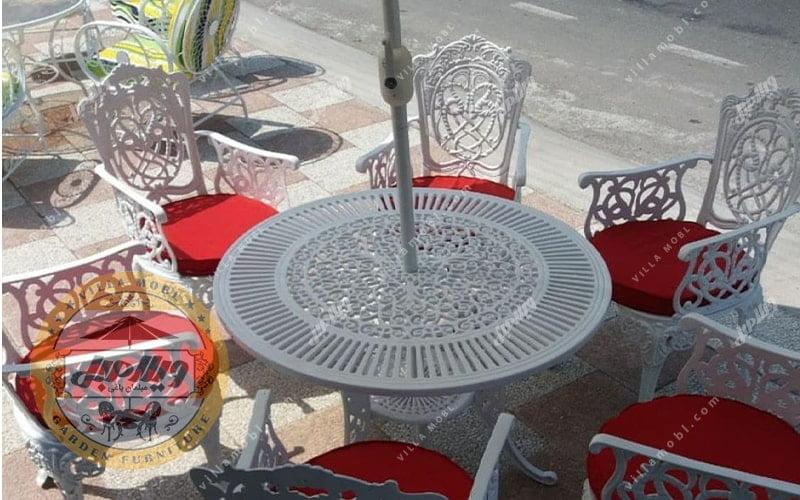 میز و صندلی باغی مرغابی