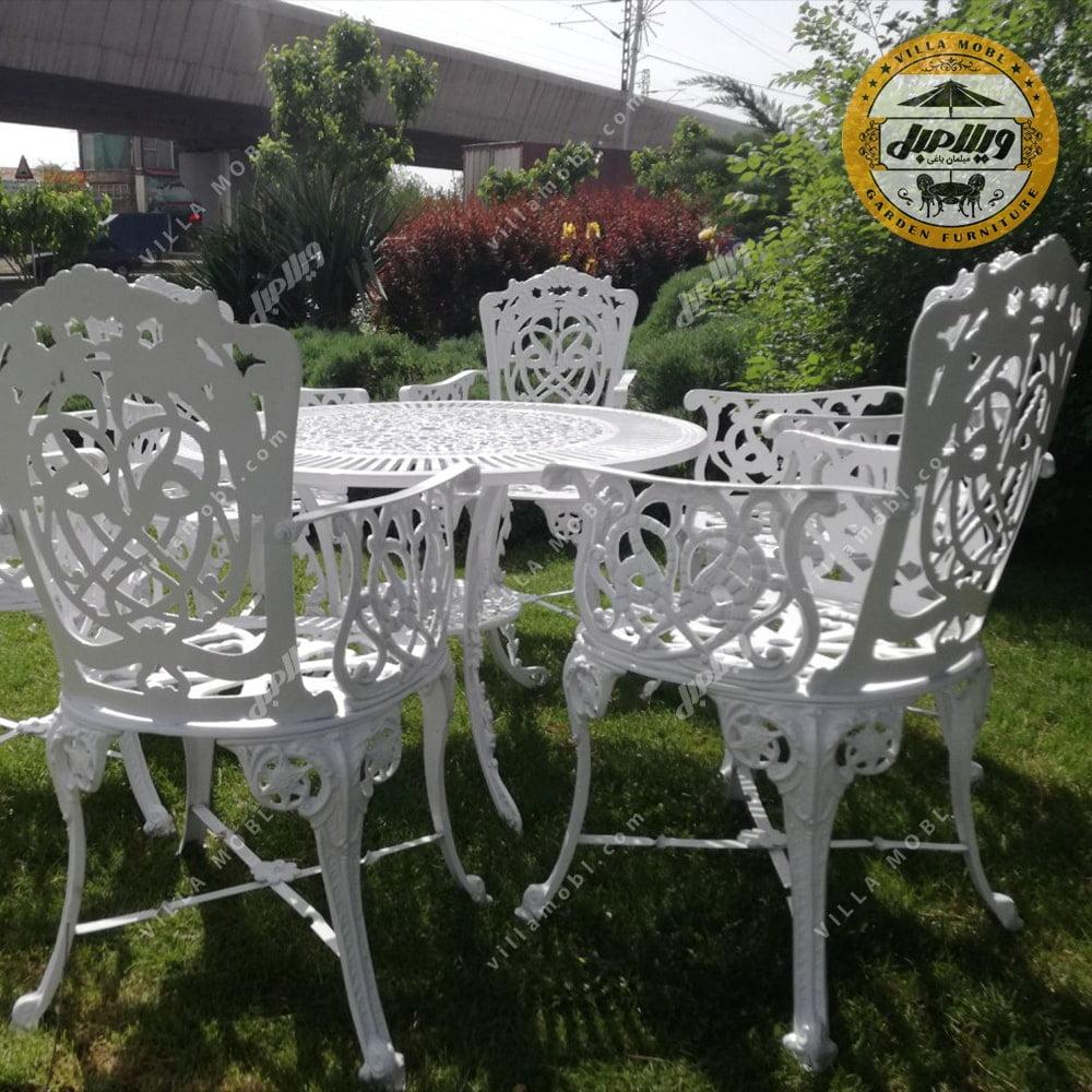 میز باغی آلومینیومی مرغابی