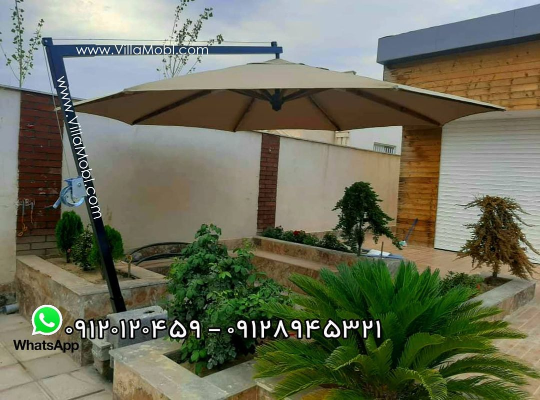 باغی ایران سایه - چتر باغی و سایه بان ویلایی
