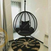 صندلی آویزی کنفی مدل آپشنال