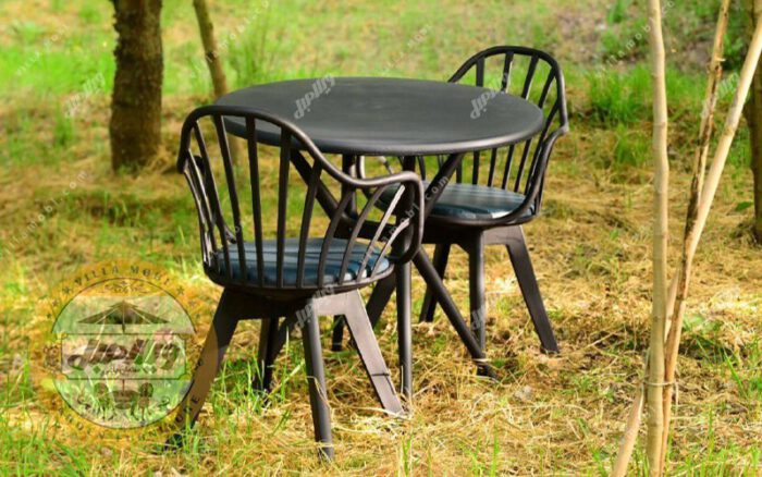 میز و صندلی طبی تیکاپلاس پلیمری چهار نفره