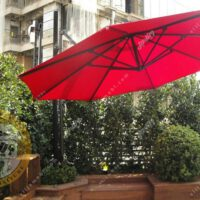 چتر باغی سایه بان پایه کنار قطر 3 متری