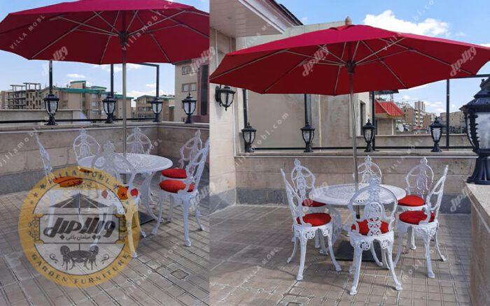 میز و صندلی ویلایی مینا