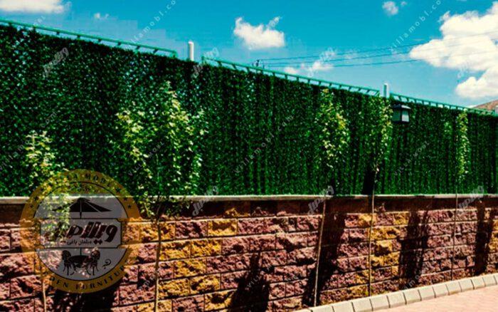 فنس چمنی و دیواره سبز چشمه 4سانتی متری