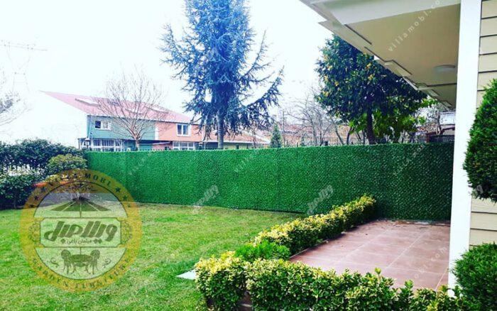فنس چمنی و دیواره سبز چشمه 5سانتی متری