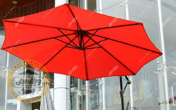 چتر سایبان پایه کنار پاسیو