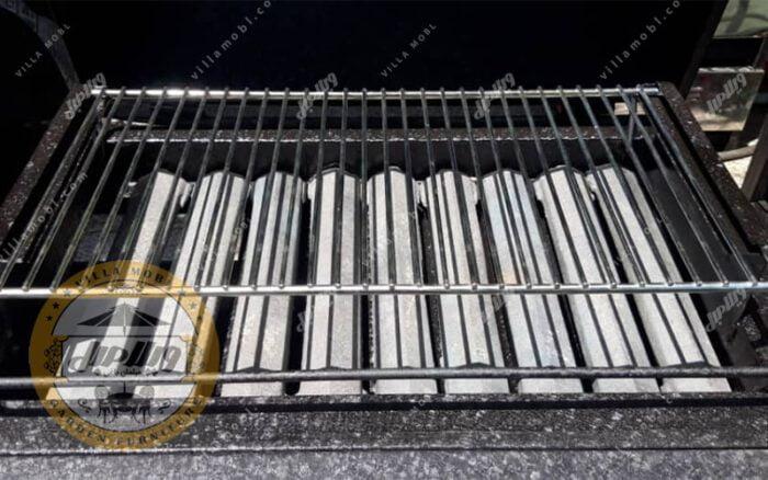 باربیکیو گازی زغالی مدل سوزان