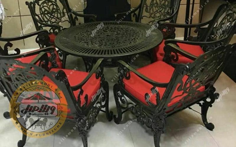 میز و صندلی مدل مرغابی