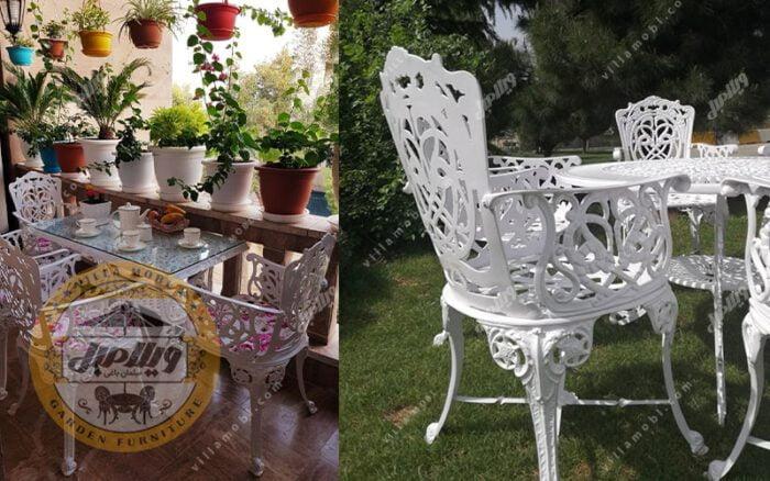 صندلی آلومینیومی مدل مرغابی