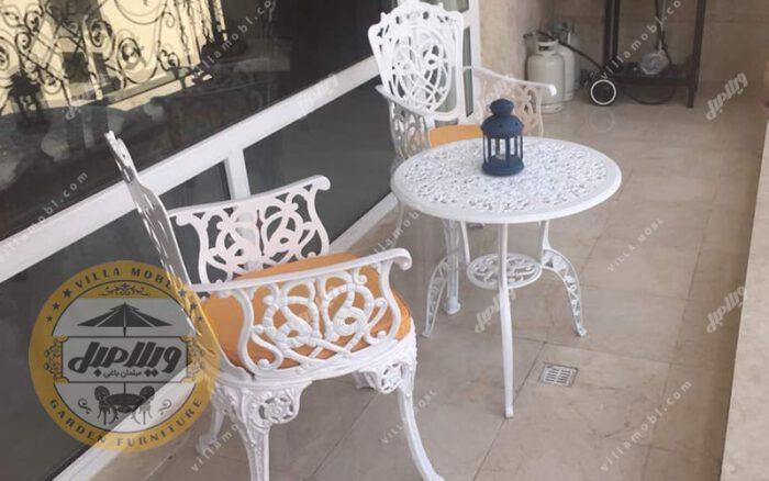 صندلی آلومینیومی مرغابی