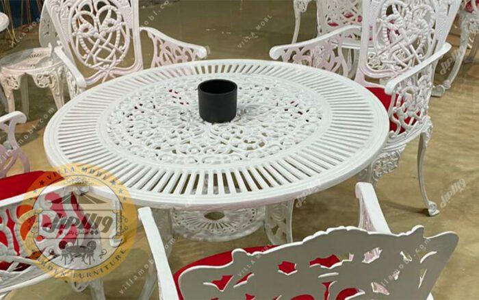 میز باغی آلومینیوم ۱۰۵ سانتی متر