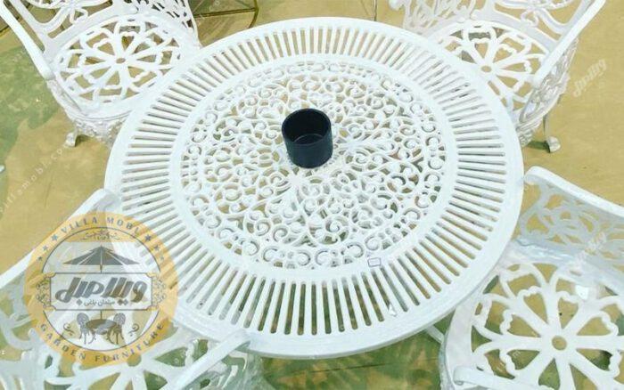میز آلومینیوم ۱۰۵ سانتی متر