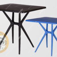 میز پلیمری مربع مدل تیکا