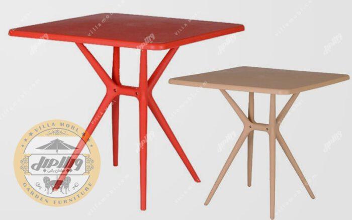 قیمت میز مربع تیکا