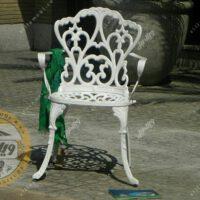 مشخصات صندلی باغی آلومینیومی مدل مدالیوم