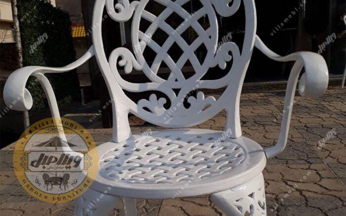 صندلی آلومینیومی مدل تاج