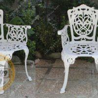 صندلی باغی آلومینیومی مرغابی