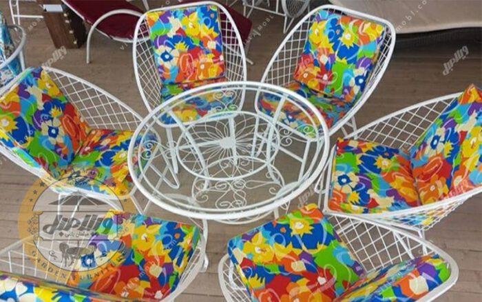 صندلی فلزی مدل مهتاب
