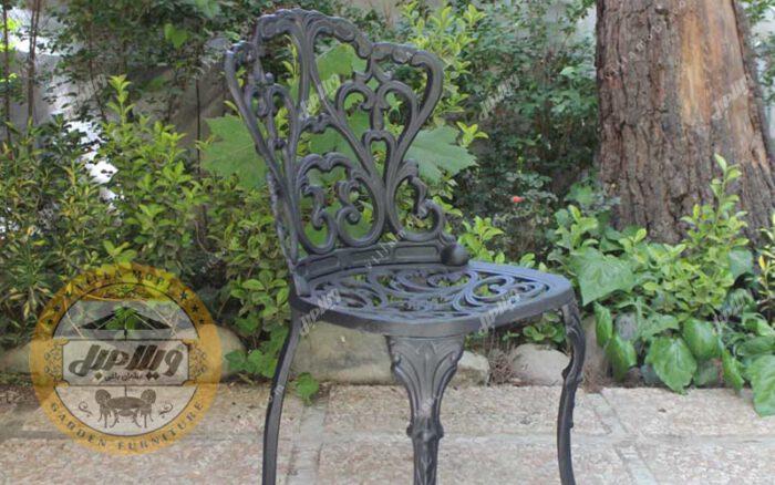 صندلی باغی مدل گیسو