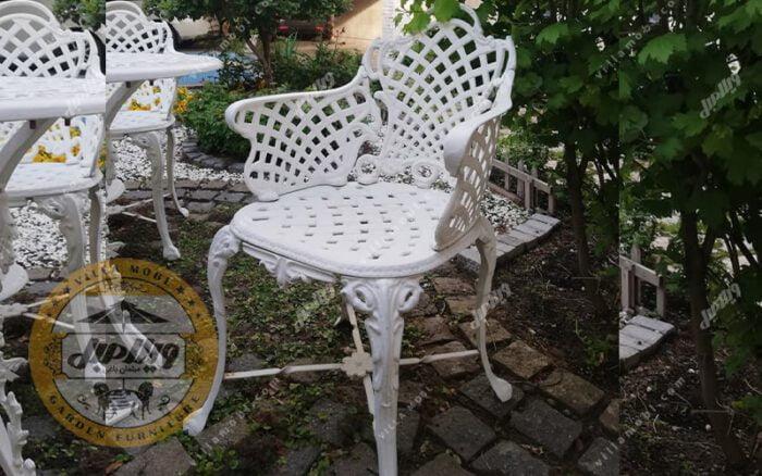 صندلی باغی آلومینیومی مدل زاگرس