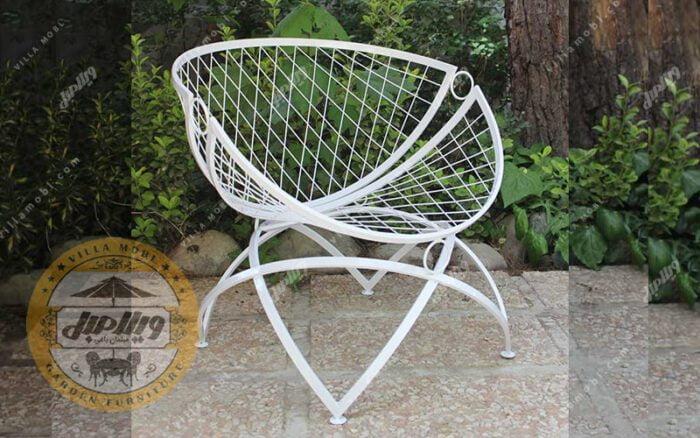 مشخصات صندلی باغی فلزی مدل الماس