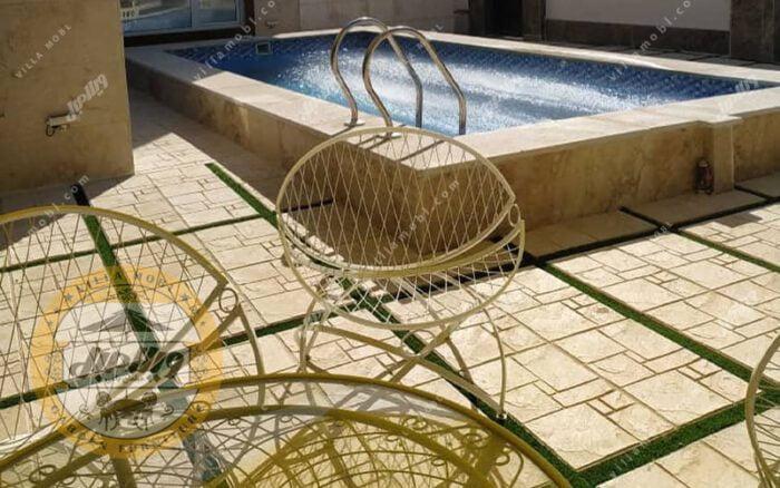 صندلی باغی فلزی ضد آب مدل الماس