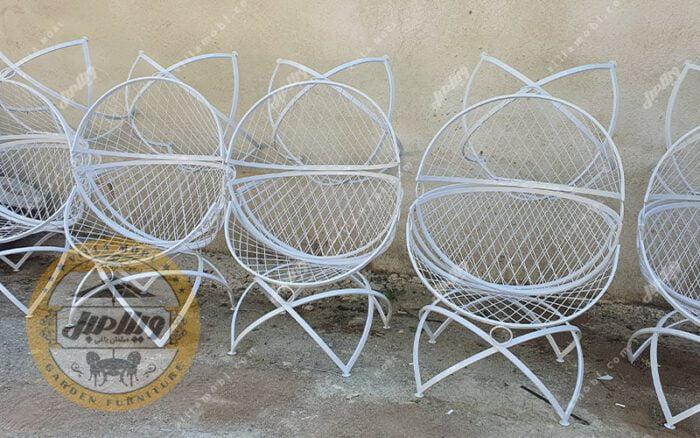 صندلی باغی فلزی الماس