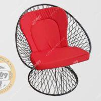 صندلی باغی فلزی مدل بامبو