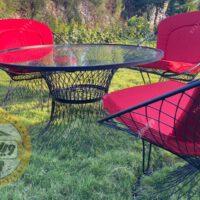 صندلی فلزی مدل بامبو