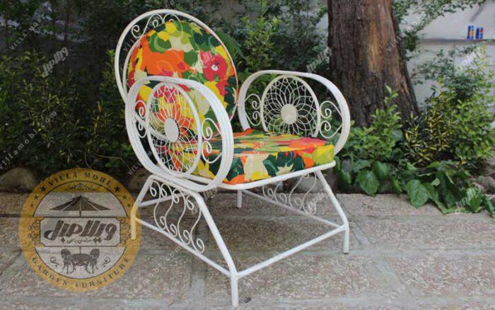 مشخصات صندلی باغی فلزی مدل خورشیدی