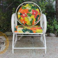 مشخصات صندلی باغی فلزی خورشیدی