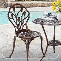 صندلی باغی آلومینیومی