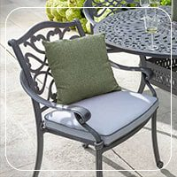 صندلی باغی فلزی