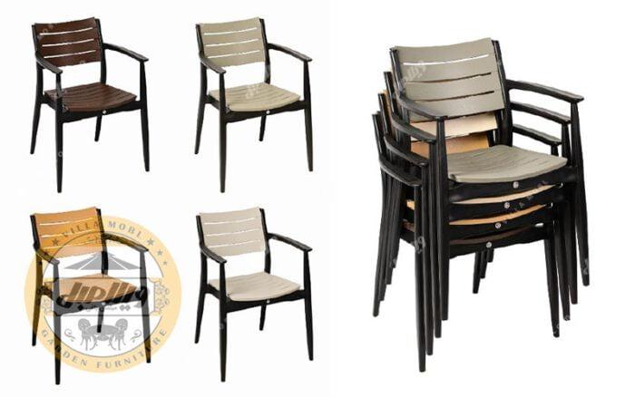 مشخصات میز و صندلی پلیمری مدل باران